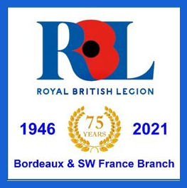 75 year RBL Banner